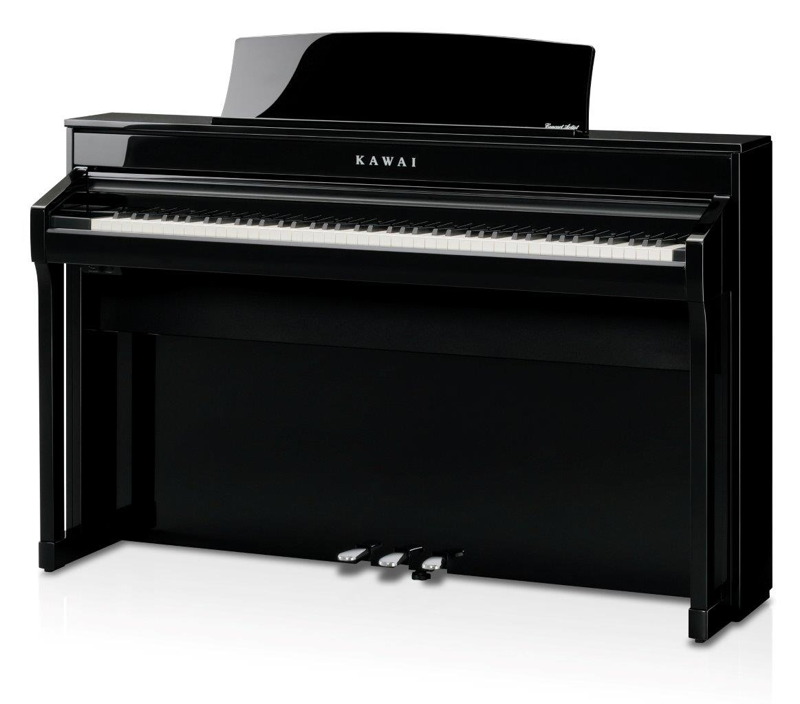 kawai ca 98 schwarz poliert digitalpiano neu piano. Black Bedroom Furniture Sets. Home Design Ideas